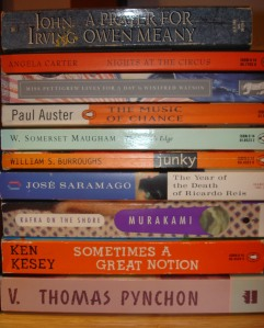 My 10 books for the challenge