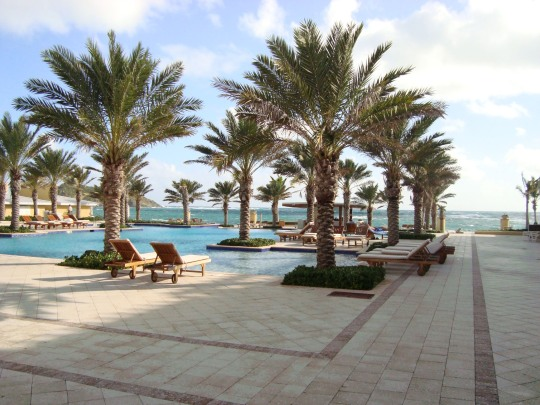 The pool at the Westin Dawn Beach