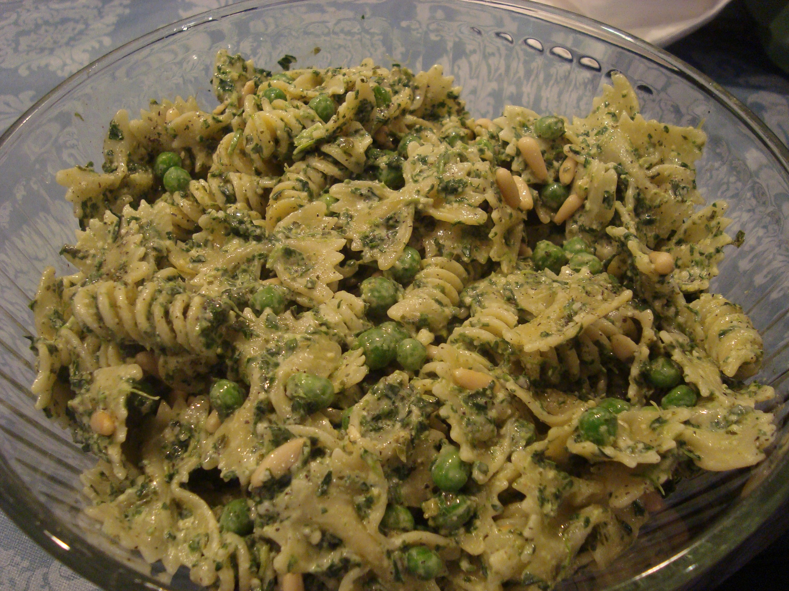 ... pasta with peas smoked almonds and dill pasta salad recipe pasta pesto